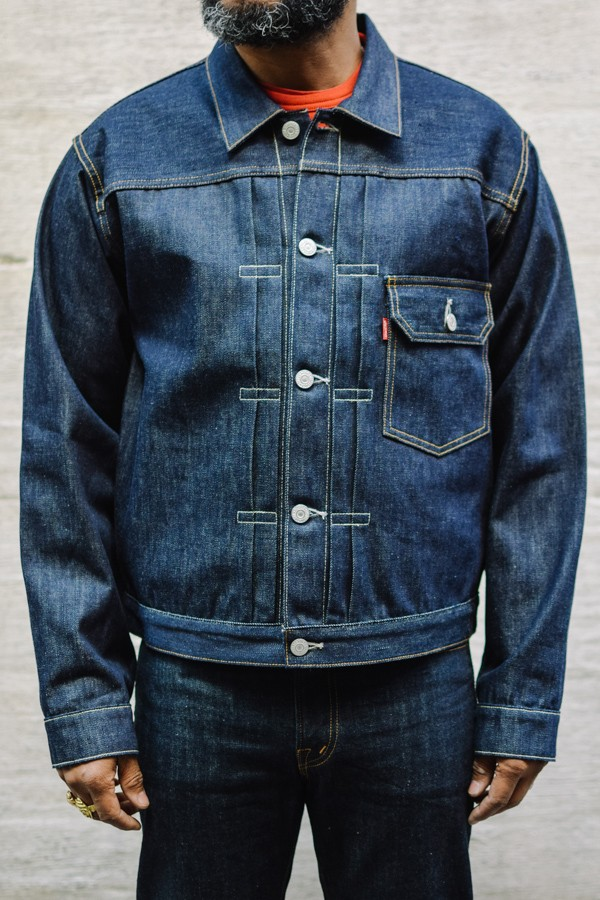 Throwback Levi S Vintage Clothing Type 1 Jacket Style